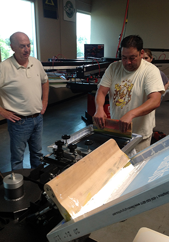 Workhorse Products Hosts Screen-Printing Workshop | Impressions