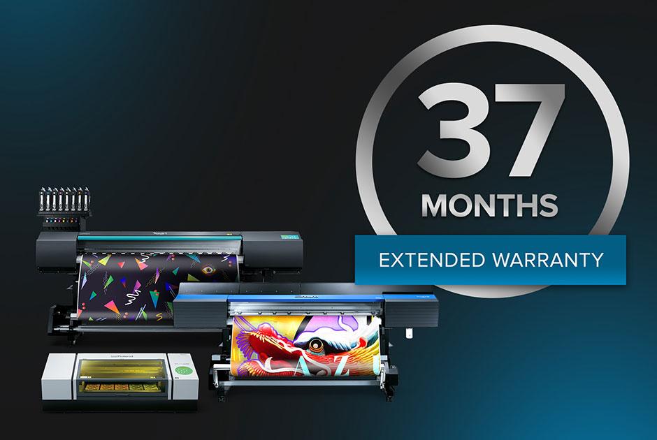 Roland DGA Announces New 37-Month Warranty Promotion   Impressions